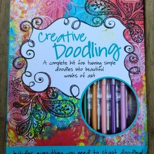 Other - 🌵 Creative Doodling Book Stay at Home Fun
